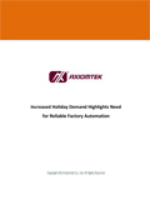Increased Holiday Demand Highlights Need for Reliable Factory Automation