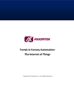Trends in Factory Automation: The Internet of Things