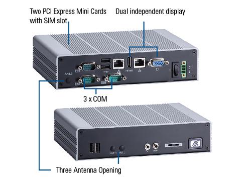 eBOX626-842-FL Embedded Box PC