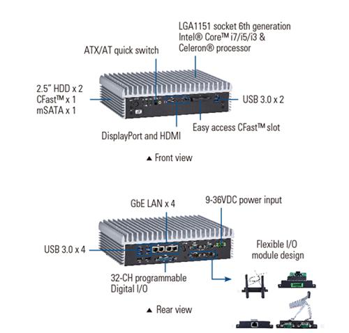 eBOX670-891-FL Embedded System