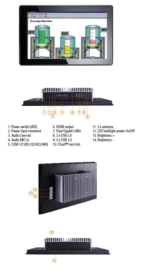 GOT3157W-881-PCT Panel PC