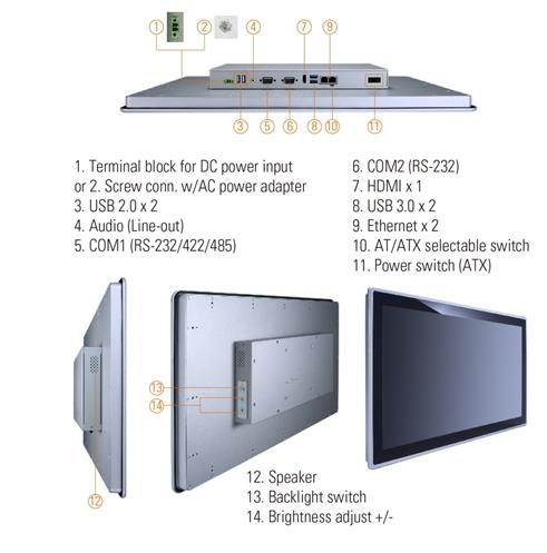 GOT3217W-845-PCT Panel PC