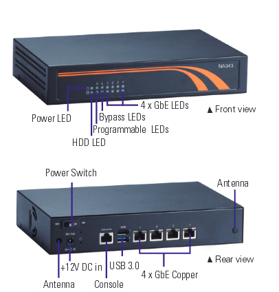 NA343 Network Appliance