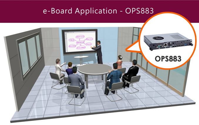 e-Board Application- OPS Digital Signage