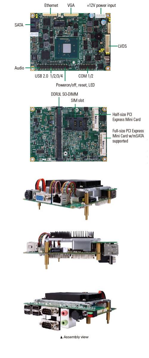 Pico-ITX Embedded SBC