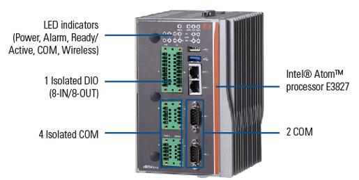 rBOX510-6COM(ATEX&C1D2) Embedded Box PC
