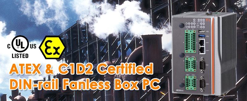 rBOX510-6COM(ATEX & C1D2) Embedded Box PC