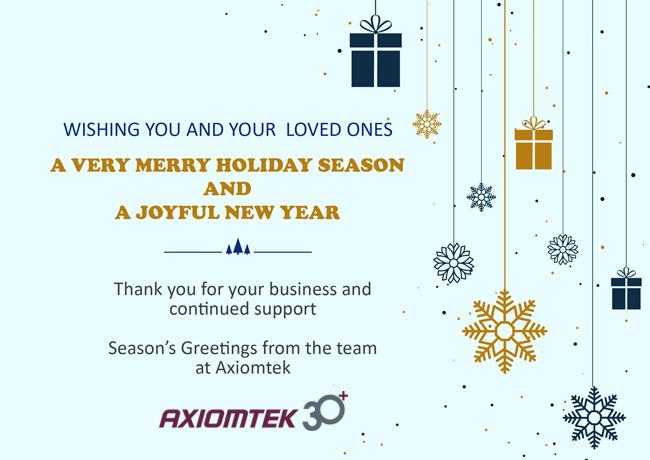 Season's Greetings from Axiomtek
