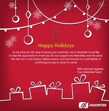 Axiomtek Happy Holidays