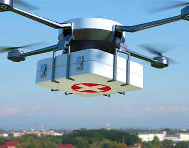Medical drones can deliver items such as drugs, serum and small medical devices quickly and to remote areas. Where retailers are still testing drones for the delivery of large packages to their custom...