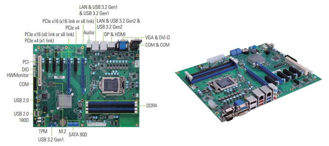 IMB530  ATX産業用マザーボード